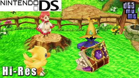 Final Fantasy Fables: Chocobo Tales - Nintendo DS Gameplay