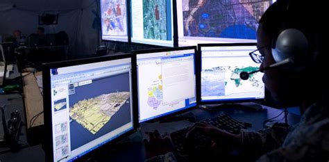 Geospatial Tools and Services Are Modern Warrior's