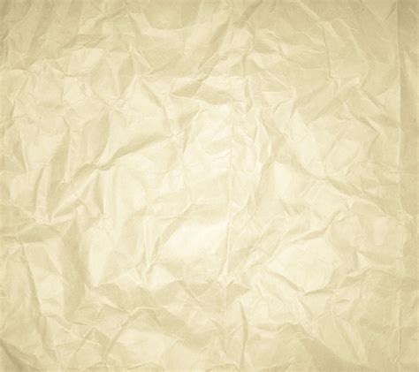 Wrinkled Ivory Colored Paper Background 1800x1600
