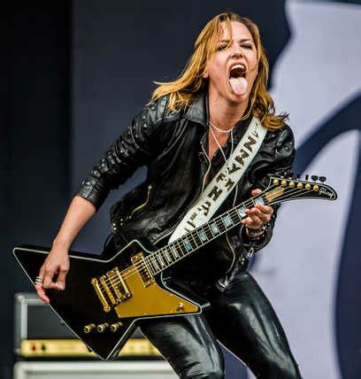 Lzzy Hale advises young musicians to do it because you