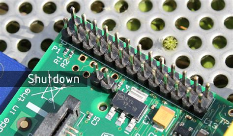 Shut down your Raspberry Pi on button press and add reset