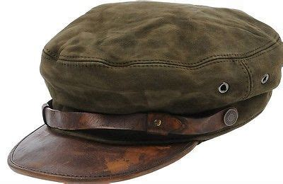 DSQUARED2 S/S 2014 HOT FULL LEATHER PAPERBOY CAP HAT HUT S