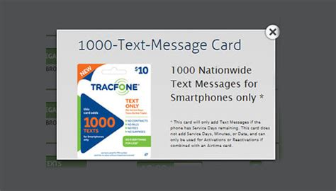 TracFone adds 1000 Text Message Card for $10 - Prepaid