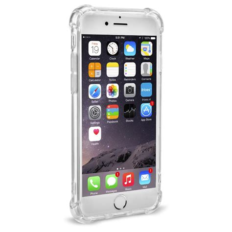 iPhone 7 / 8 cover hoes shock transparant • iHoes