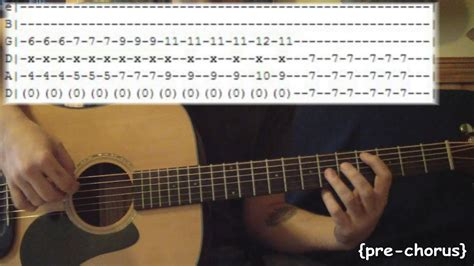 Everlong by Foo Fighters - Full Guitar Lesson & Tabs - YouTube