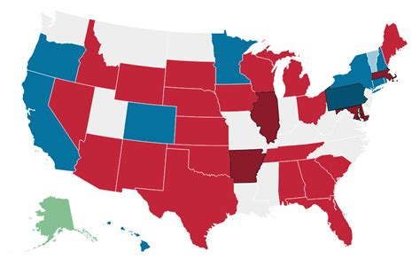 Midterm Election 2014: Data, Maps and State-by-State