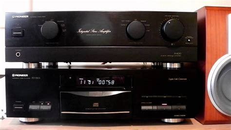 Pioneer PD-S901 & Pioneer A-400 - YouTube