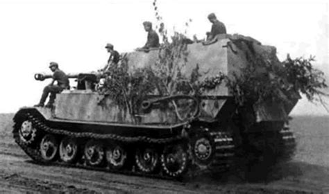 German Armored Forces & Vehicles - Ferdinand/Elephant