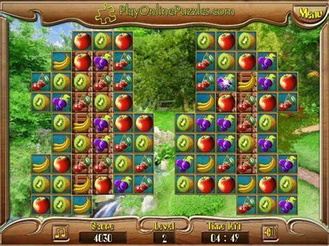 Fruit Match Puzzle game - FunnyGames