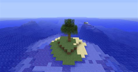 Survival Island Seed! Minecraft Project