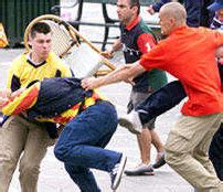 Teenage hooligans who follow the Rams - Derby County-Mad
