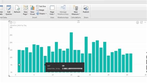 Setting up a Simple Data Visualization in Power BI - YouTube