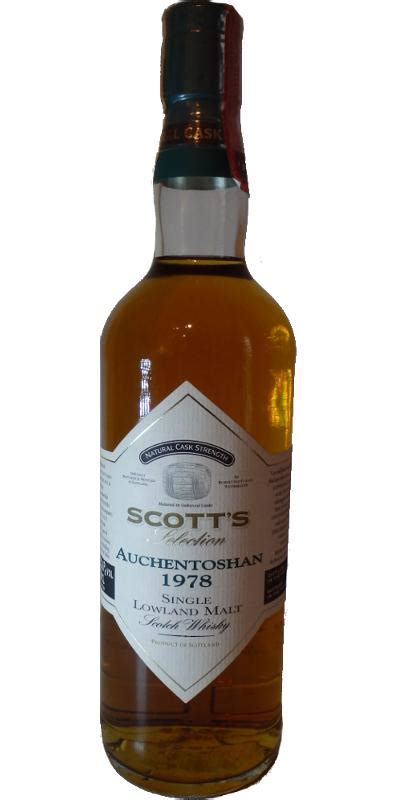 Scott's Selection - Whiskybase - Ratings and reviews for