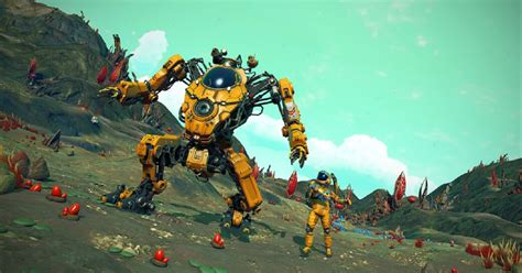 Hello Games Adds New Giant Mechs To No Man's Sky