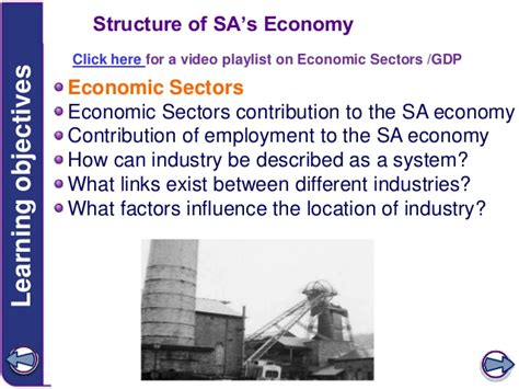 Structure of SA economy