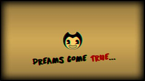 [27+] Bendy And The Ink Machine Logo Wallpapers on