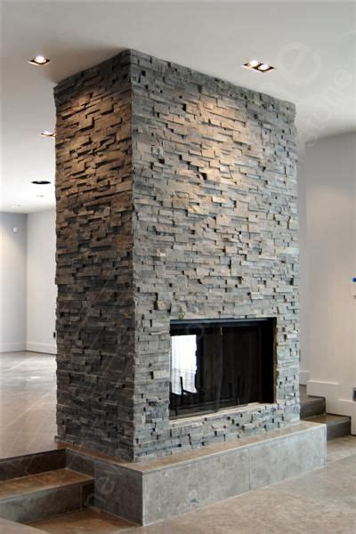 Rock Panels - Stacked Stone veneer wall cladding for