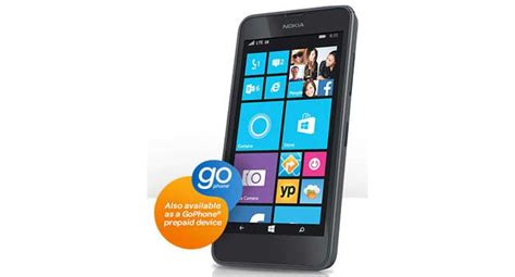 AT&T GoPhone Nokia Lumia 635 available from July 25 for