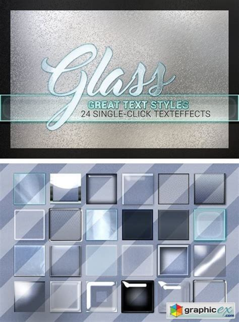 24 Styles - Glass Collection » Free Download Vector Stock