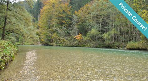 Fly fishing on the river Loisach - catcheria