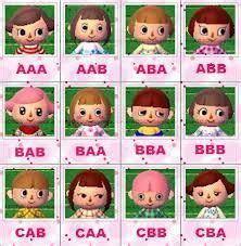 Animal Crossing: New Leaf - face guide | Animal crossing