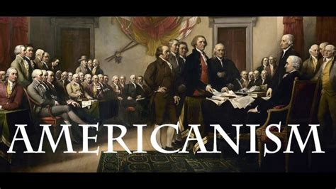 What is Americanism? - YouTube