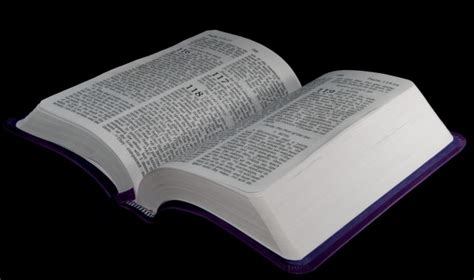Bible Open To Psalm 118 Free Stock Photo - Public Domain