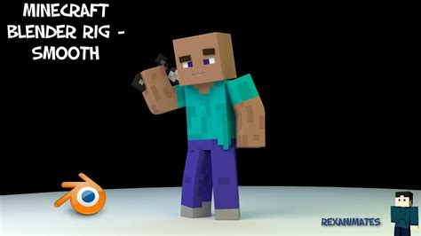 Minecraft Blender Rig - Smooth Overview - YouTube