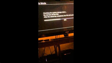 PS4 Starting Problem - YouTube
