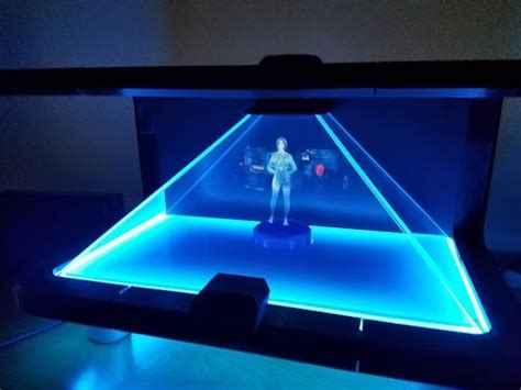 Guy Creates Amazing Cortana Hologram For Home Use and He's