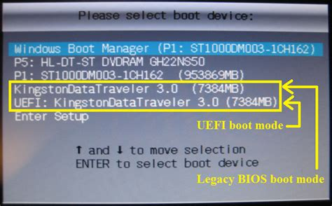 Windows only boots from UEFI - Windows 10 Forums
