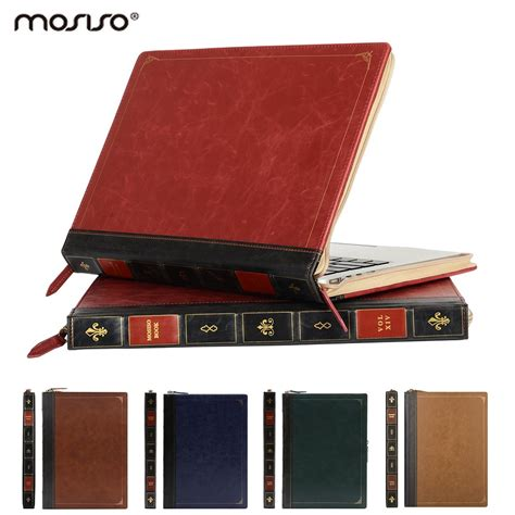 Mosiso PU leather Sleeve Cover Case for Macbook Pro 13 15