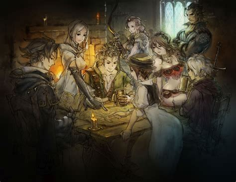 Project Octopath Traveler Preview -- A New Approach to