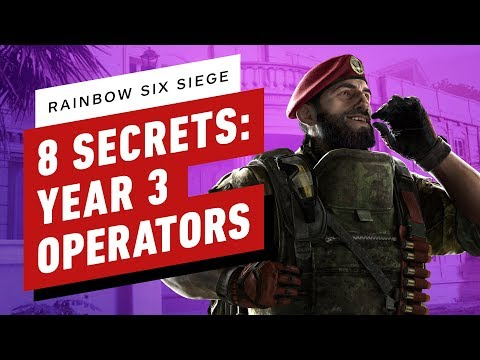 Rainbow Six Siege's Mira and Jackal have a ban rate of