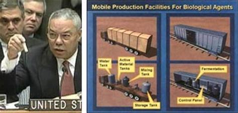 Colin Powell regrets his accusations against Iraq, by