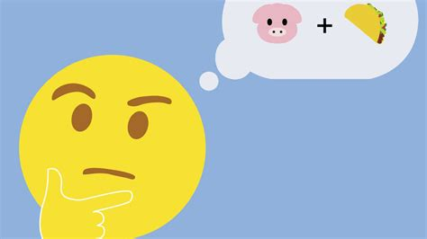 Emoji on Restaurant Menus: Why Use Words When Smiley Faces