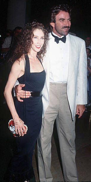 Actor Tom Selleck with his wife Jillie, circa 1992