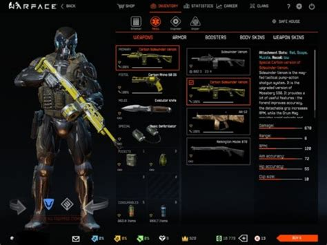 Sold - Warface Account NA Server PVP and PVE Weapons