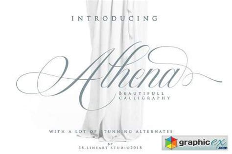 Athena Font » Free Download Vector Stock Image Photoshop Icon