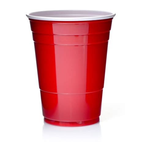 Solo Cups 16oz Rote Becher 473 ml Red Cup Original USA 100
