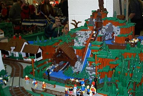 sport life: Disneyland Made Out Of Lego