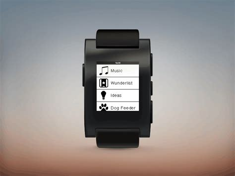 Pebble Watch by Marco Canteiro   Dribbble   Dribbble