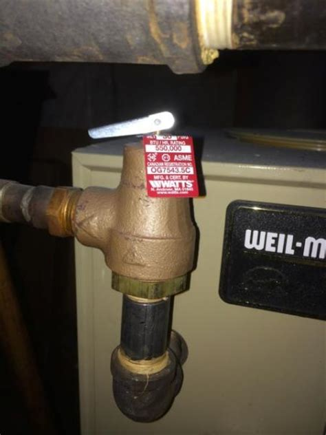 One zone overheating and overflow pipe leaking