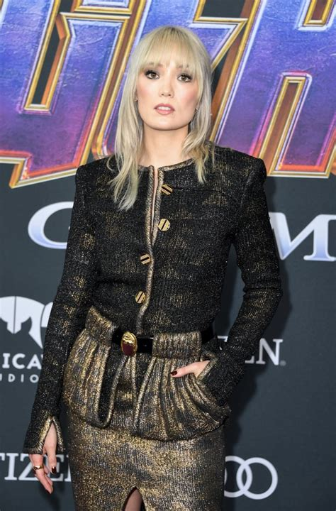Pictured: Pom Klementieff   Celebrities at Avengers