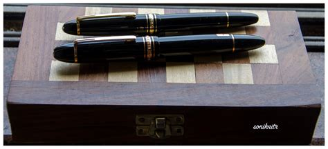 The Silent Cartographer: A Montblanc Meisterstück 149 in