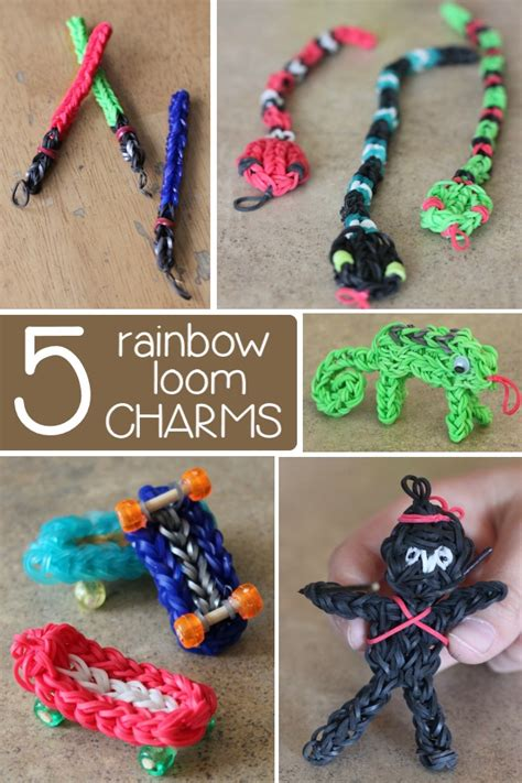 Colorful Rainbow Loom Charms Have Been Released On Kids